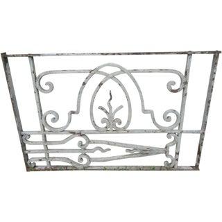 Antique Victorian Iron Gate Architectural Salvage