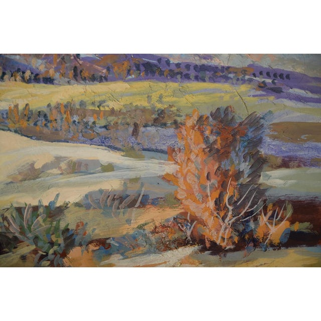 Indio Hills & Valley Desert Landscape Painting - Image 5 of 10