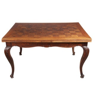 Antique Louis XV Style Marquetry Table