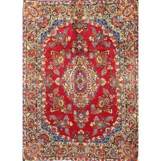 Pasargad N YPersian Yazd Lamb's Wool Rug - 8′1″ × 11′