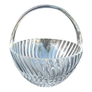 Towle Crystal Basket