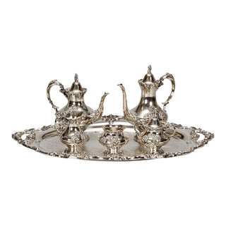 Reed & Barton Silver Plate Coffee Service - 6 Pieces