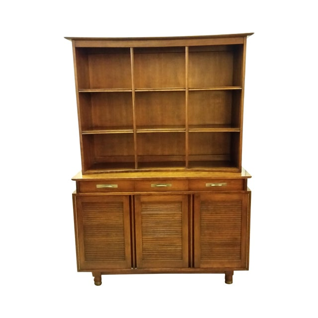 1955 Trans-East Cherry Willett China Top & Hutch - Image 1 of 10
