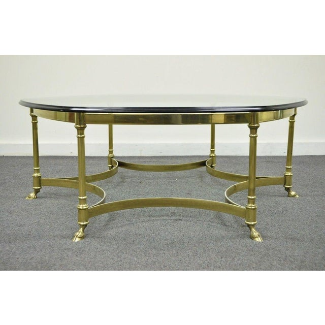 Vintage Regency La Barge Brass Coffee Table Chairish