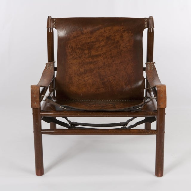 "Vintage Arne Norell ""Safari"" Chair - Image 2 of 5"