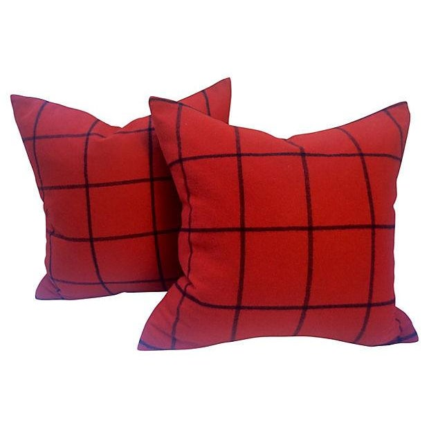 Ralph Lauren Cashmere Pillows - A Pair - Image 1 of 2