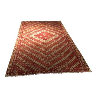 "Bellwether Rugs Antique Turkish Kilim Rug - 9'2"" x 13'2"""