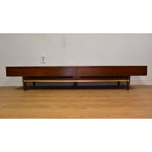 American of Martinsville Low Table Tv Console - Image 3 of 9