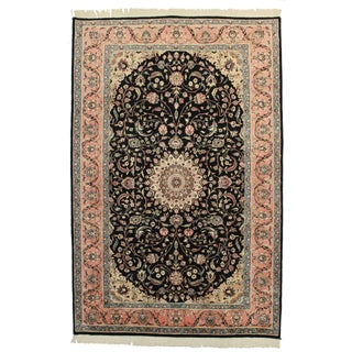 Hand Knotted Wool Pakistani Style Rug - 6′ × 9′2″