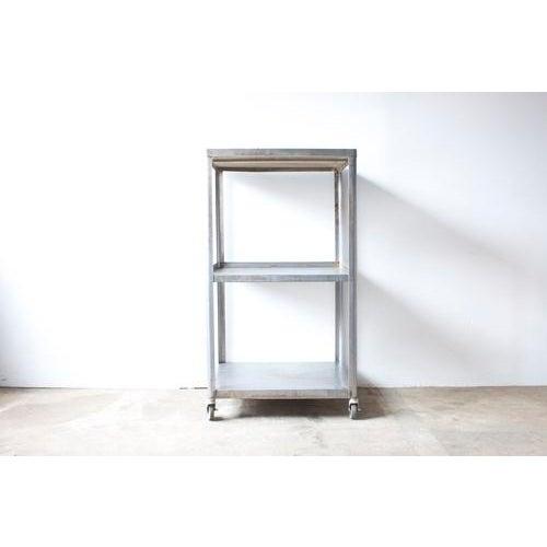 Image of Industrial Metal Rolling Cart