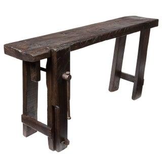 Solid Fir 19th Century Carpenter's Workbench