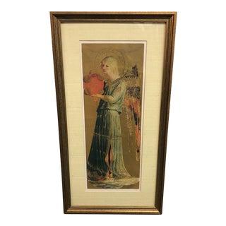 Early Renaissance Angel Print