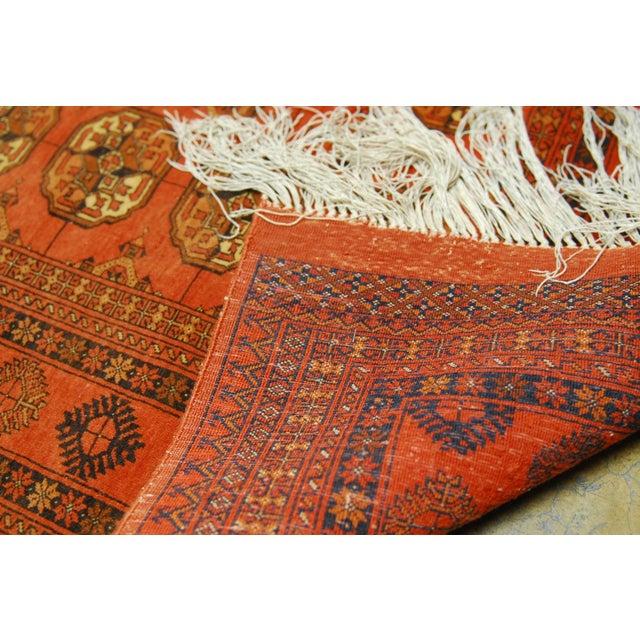 """Vintage Turkoman Tekeh Rug - 4'1"""" X 6'9"""" - Image 4 of 5"""