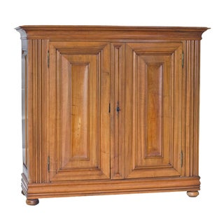 Continental Walnut Cabinet