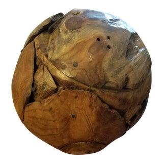 Wood Burl Knot Ball