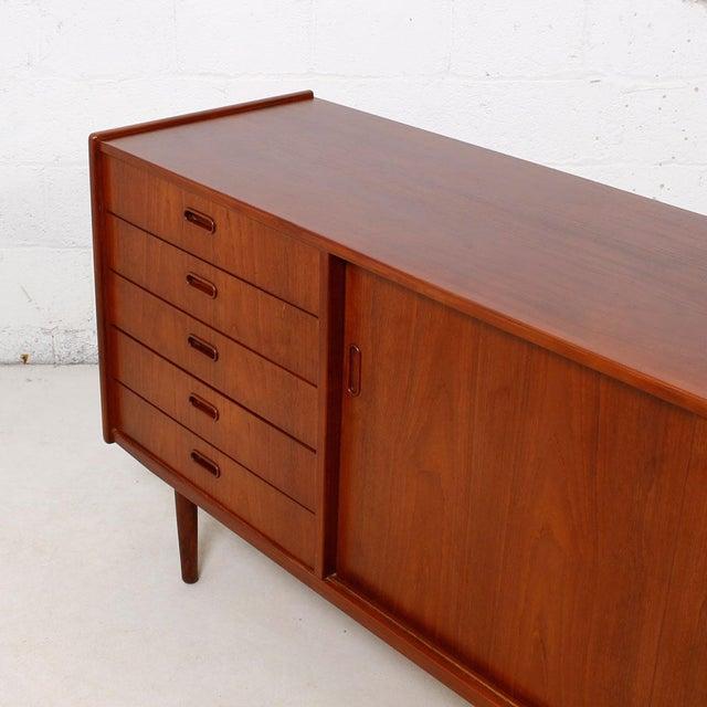Danish modern teak sideboard by arne vodder chairish for 0co om cca 9 source table