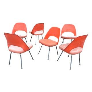 Eero Saarinen Fiberglass Back Chairs - Set of 6