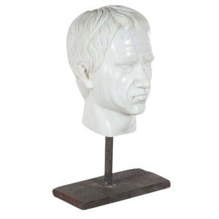 Marble Roman Emperor Head