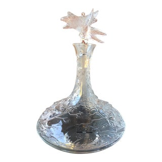 Lalique Dragonfly Decanter