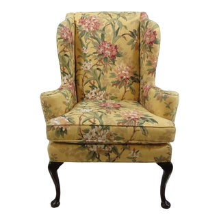 Century Furniture Queen Anne Wingback Chair