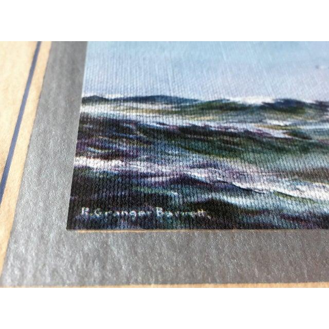 Image of Framed Ship Print