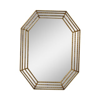 LaBarge Hollywood Regency Gilt Gold Frame Mirror