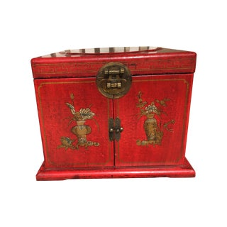 Antique Chinese Jewelry Box From Shanghai