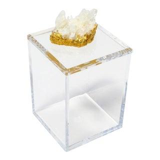 Tall Acrylic Box With Himalayan Crystal