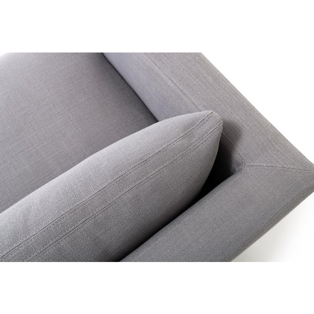 Clad Home Modern Low Profile Linen Sofa - Image 3 of 5