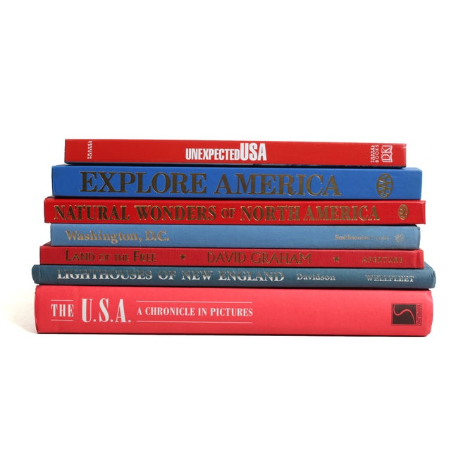 Americana Book Stack - Set of 7 - Image 2 of 2