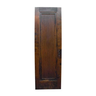 Single Recessed Panel Birch Door