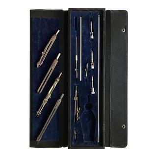 Vintage Set of Drafting Tools