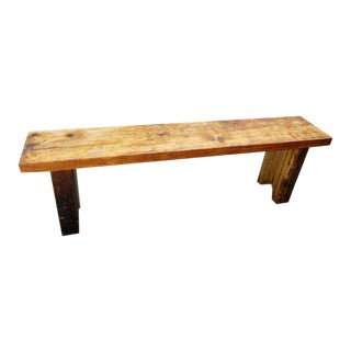 Reclaimed White Pine Five Foot Bench