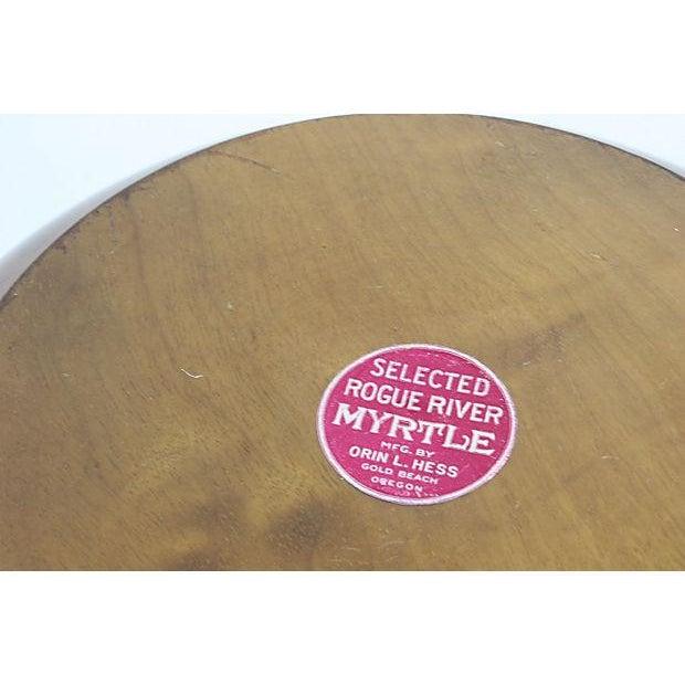 Image of Mid-Century Mod Nut Cracker Bowl in Oregon Myrtle
