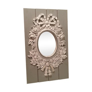 French Style Painted Shabby Chic Mirror
