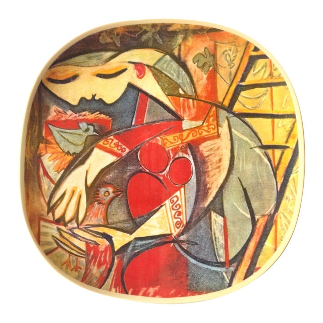 "Picasso Collector's Plate ""Farmer's Wife"" - Image 1 of 5"