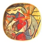 """Image of Picasso Collector's Plate """"Farmer's Wife"""""""