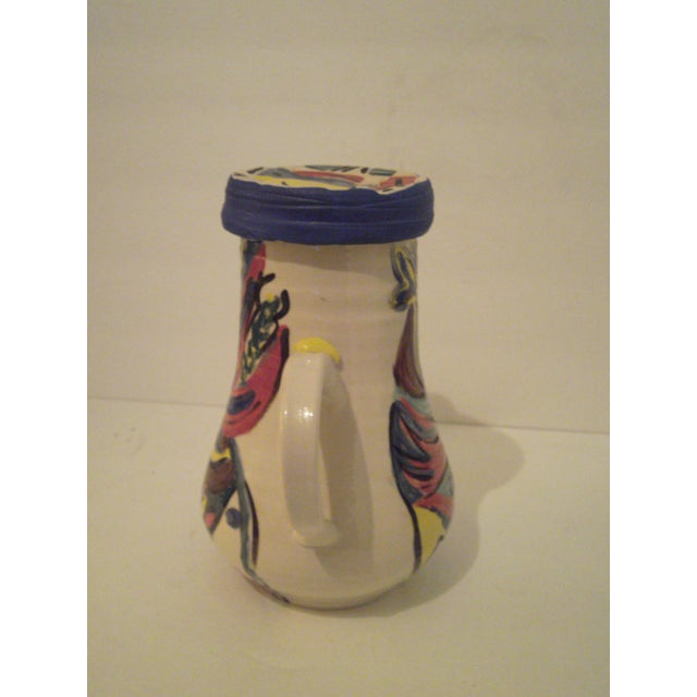 Art Pottery Covered Carafe - Image 5 of 7