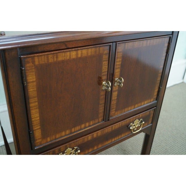 Drexel Heritage Chippendale-Style Nightstand - Image 7 of 10