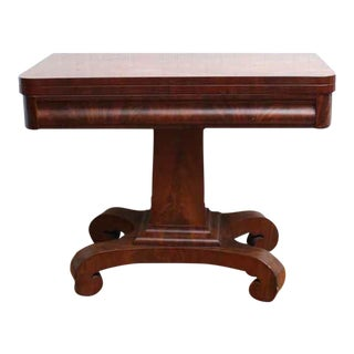Antique Empire Game Table