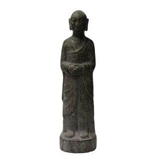 Chinese Gray Stone Statue