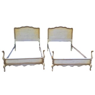 Antique French Twin Beds - A Pair