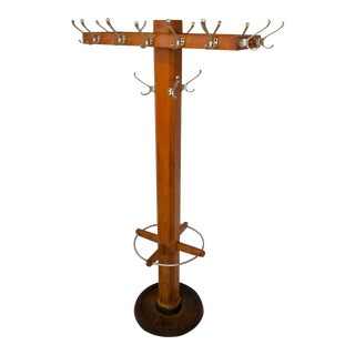 Industrial Coat & Hat Stand
