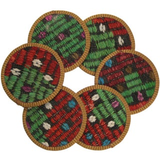 Sipahi Kilim Coasters - Set of 6