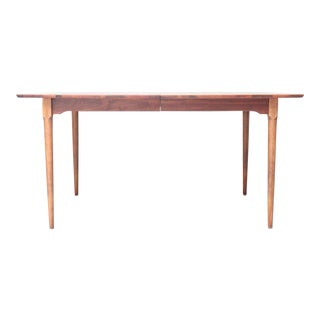 Mid-Century Modern Walnut Dining Table