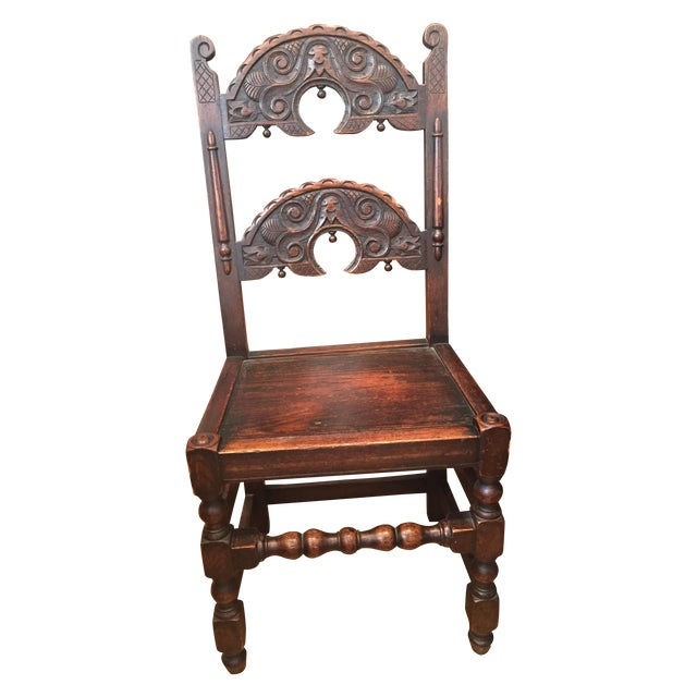 Tudor Chairs - Set of 4 - Image 1 of 5
