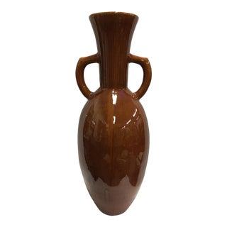 1970's Ceramic Floor Vase