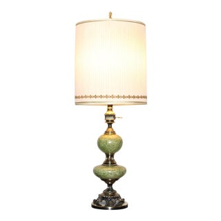 Vintage Rembrandt Brass Torchiere Table Lamp