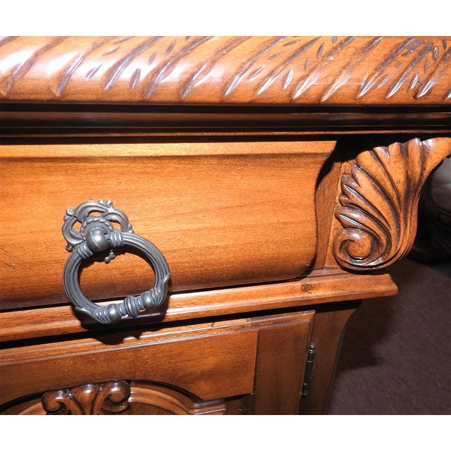 Luxury Cherry Nightstand (Part 6 of a 6-Piece Set) - Image 5 of 7