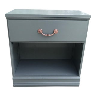 Dark Gray Nightstand / Dog Bed